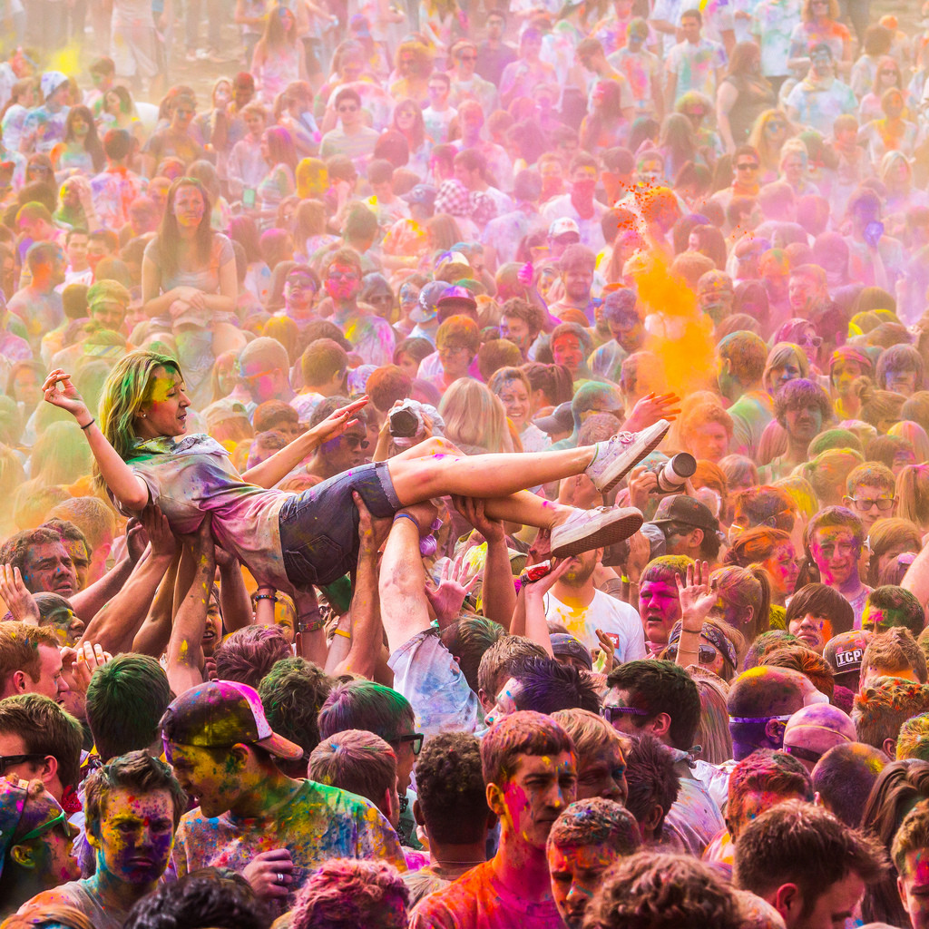 A festival of colour