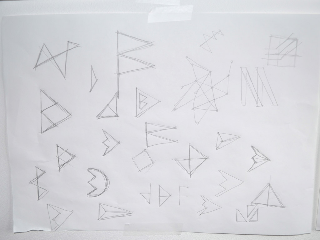 Triangles and flags