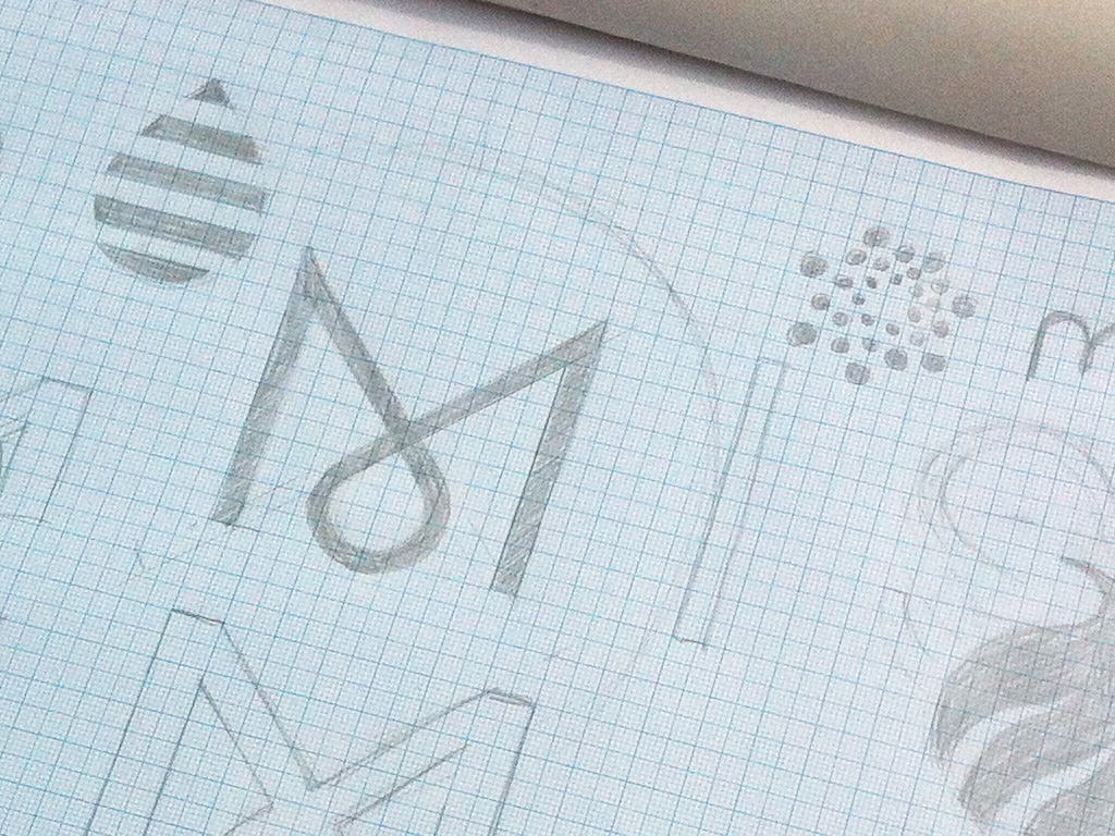 Mist branding concept sketches